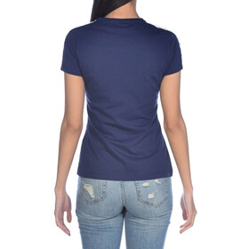 arena Team Camiseta Mujer, navy/white/navy
